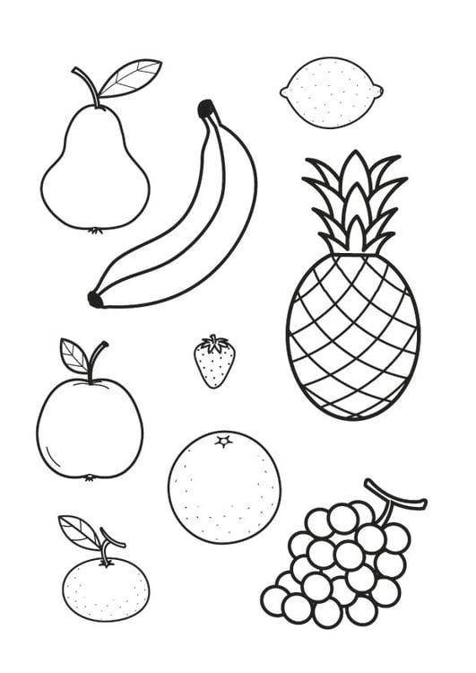 101 Malvorlagen Von Obst 2020 Kostenlose Ausmalbilder Zum