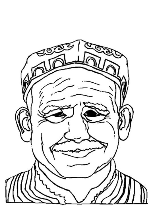 malvorlage alter mann  kostenlose ausmalbilder zum