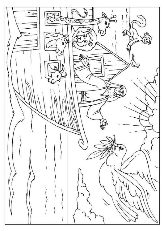 Malvorlage Arche Noah Ausmalbild 25999