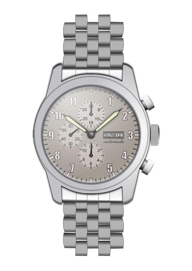 Armbanduhr ausmalbild  Malvorlage Armbanduhr | Ausmalbild 27316.