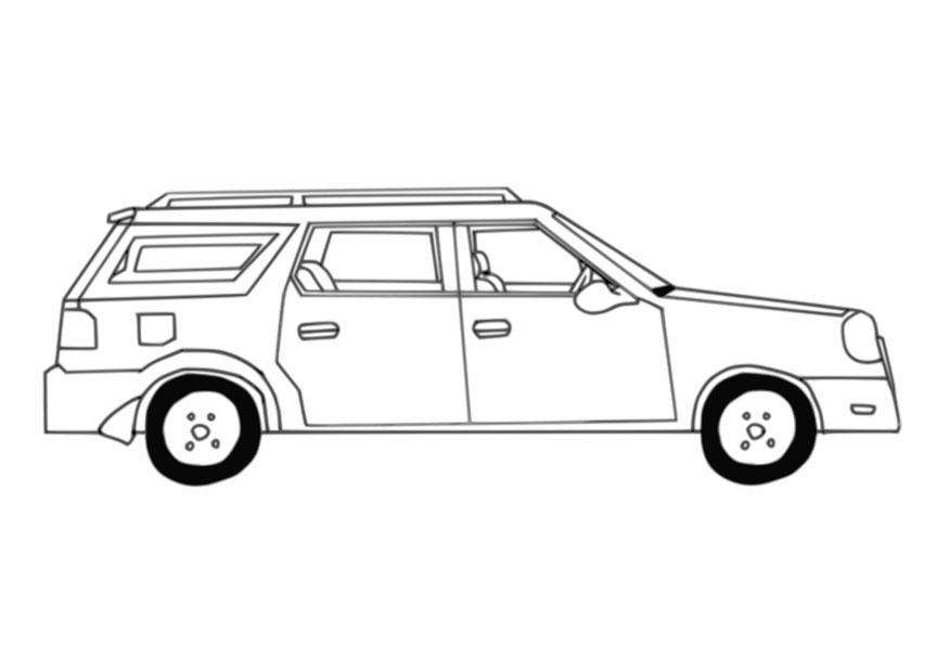 Grote Kleurplaten Auto.Oldtimer Kleurplaat Malvorlage Auto Ausmalbild 27644 Kleurplatenl Com