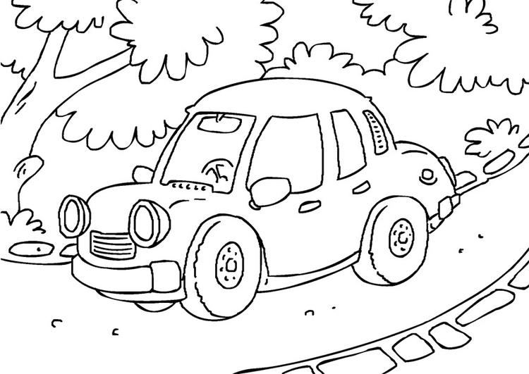 malvorlage auto  kostenlose ausmalbilder zum ausdrucken