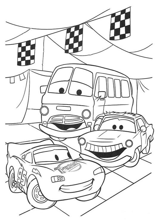 Malvorlage Autos | Ausmalbild 20749.