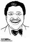 Malvorlage  B. B. King
