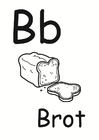 Malvorlage  b