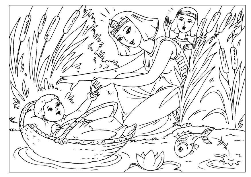 Niedlich Baby Moses Malvorlagen Bilder - Ideen färben - blsbooks.com