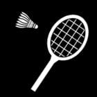 Malvorlage  Badminton
