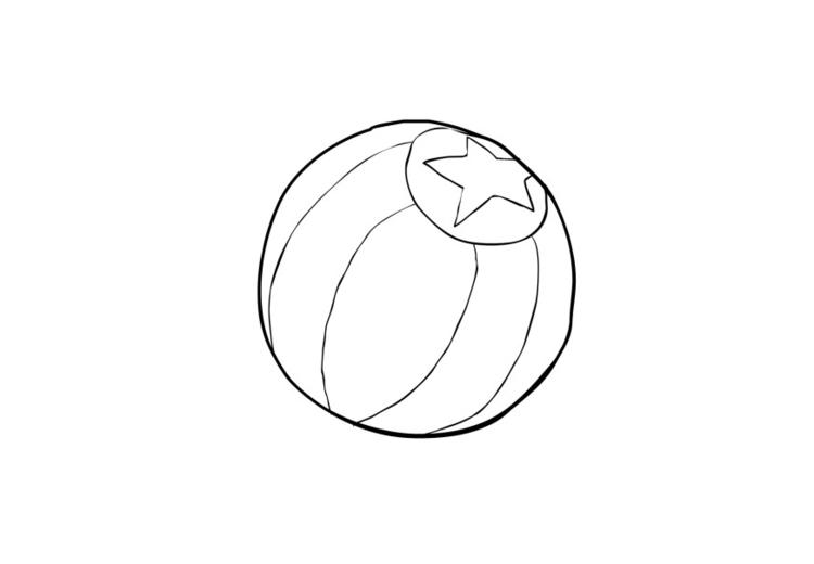 Atemberaubend Strandball Malvorlagen Bilder - Entry Level Resume ...