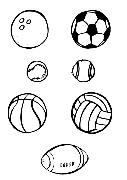 malvorlage ballsport  kostenlose ausmalbilder zum ausdrucken