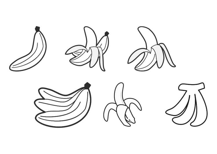 Beste Geschälte Banane Malvorlagen Zeitgenössisch - Ideen färben ...