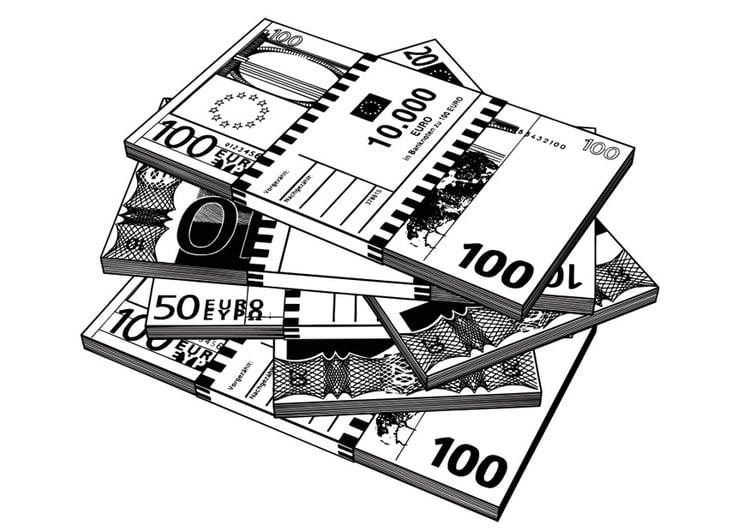 Malvorlage Banknote Kostenlose Ausmalbilder Zum Ausdrucken