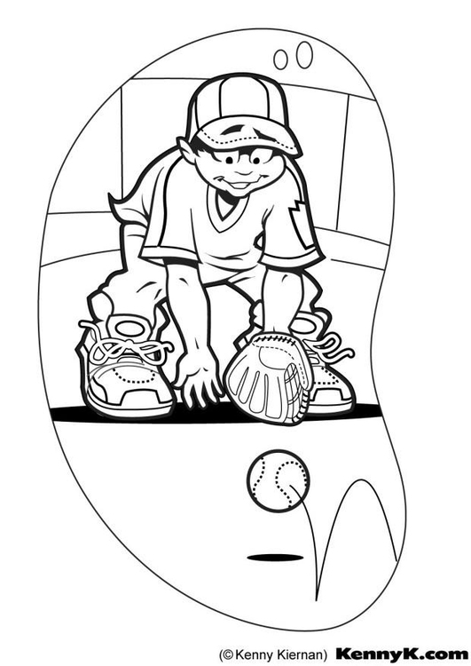 Schön Malvorlagen Für Baseball Spieler Zeitgenössisch - Beispiel ...