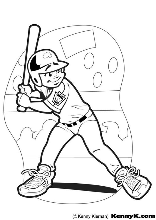 Berühmt Baseball Spieler Malseite Bilder - Malvorlagen-Ideen ...