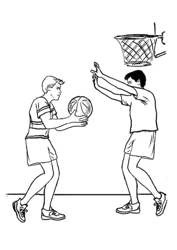 Tolle Sport Malvorlagen Für Jungen Basketball Fotos - Druckbare ...