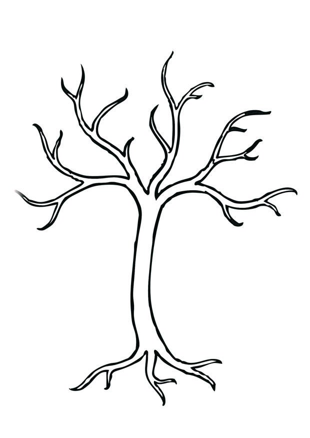 Malvorlagen Baum Mit ästen | My blog