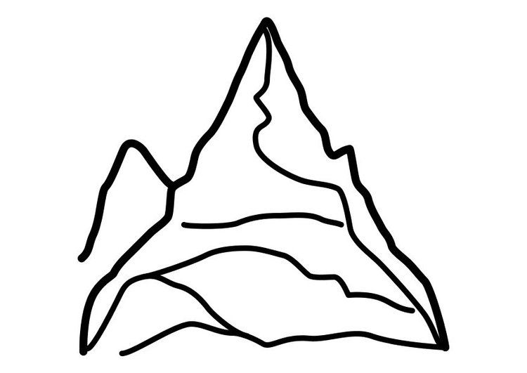 Erfreut Berge Malvorlagen Galerie - Framing Malvorlagen ...