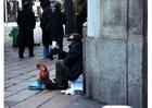 Foto Bettler in Mailand