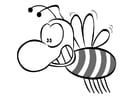 Malvorlage  Biene
