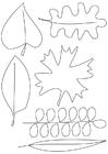 Malvorlage  Blätter