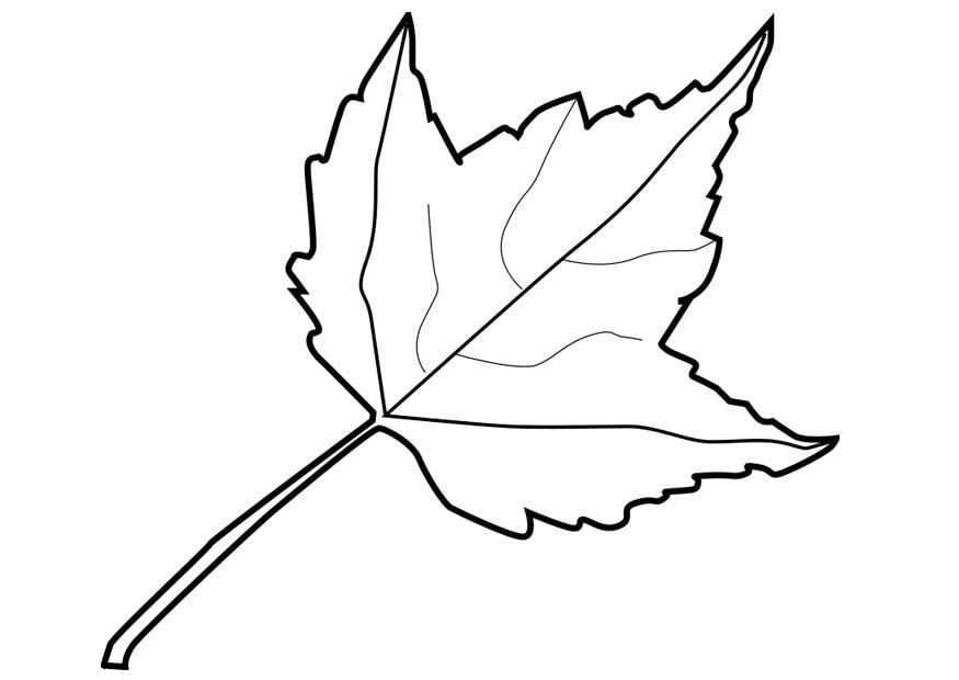 Ausgezeichnet Herbstblatt Malvorlagen Fotos - Beispiel ...