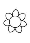 Malvorlage  Blume