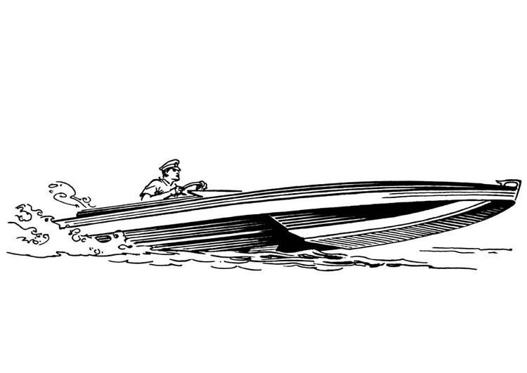 Malvorlage Boot Ausmalbild 18884