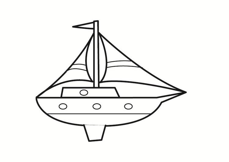 Ungewöhnlich Einfache Boot Malvorlagen Fotos - Malvorlagen-Ideen ...