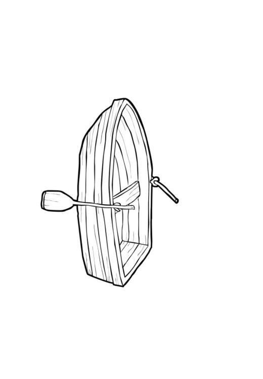 Ruderboot malvorlage  Malvorlage Boot | Ausmalbild 13946.