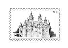 Malvorlage  Briefmarke 3
