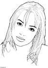 Malvorlage  Britney Spears