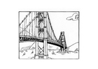 Malvorlage  Brücke