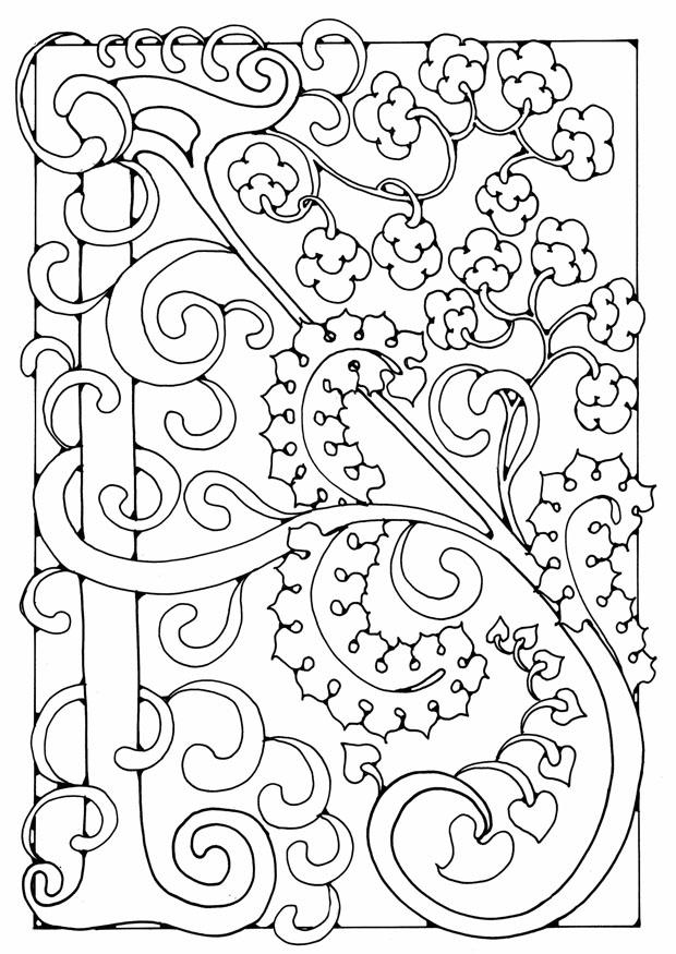 Malvorlage Buchstabe - A | Ausmalbild 21886.