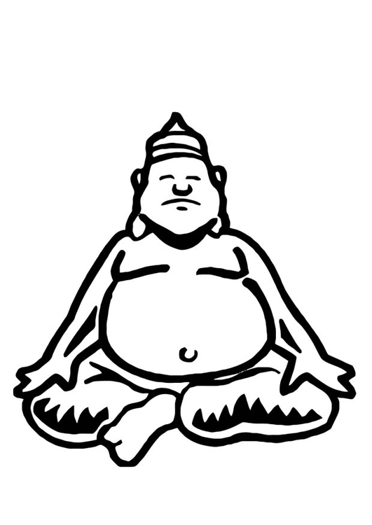 malvorlage buddha ausmalbild 10961. Black Bedroom Furniture Sets. Home Design Ideas