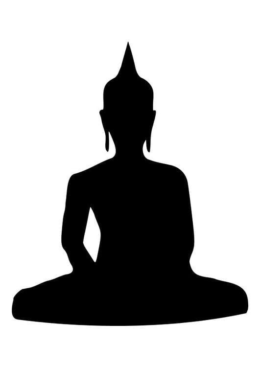 malvorlage buddha ausmalbild 10451. Black Bedroom Furniture Sets. Home Design Ideas