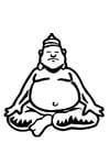 Malvorlage  Buddha