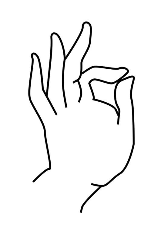 Malvorlage Buddhas Hand | Ausmalbild 25622.