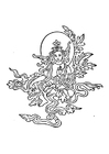 Malvorlage  buddhistische Abbildung