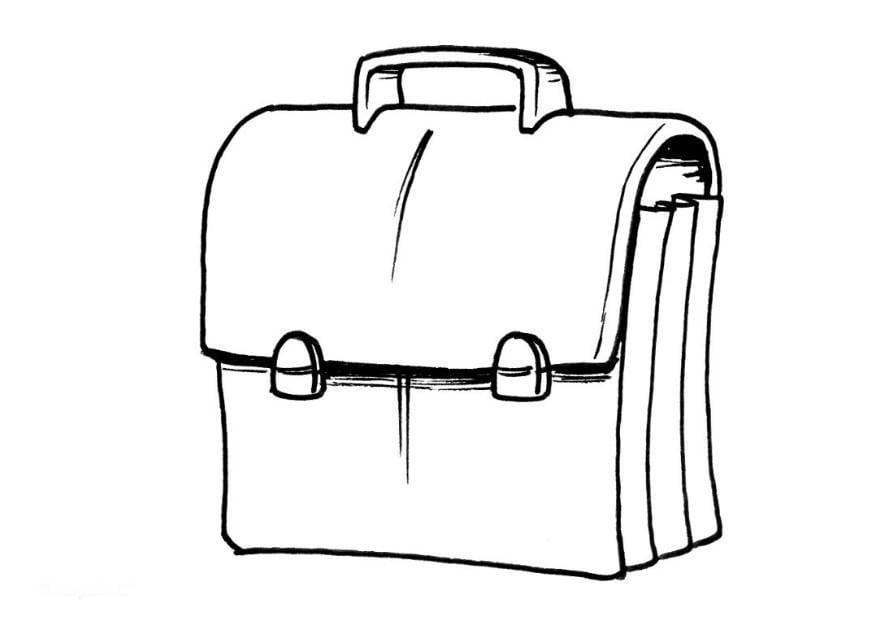 2017 Tasche Ausmalbild