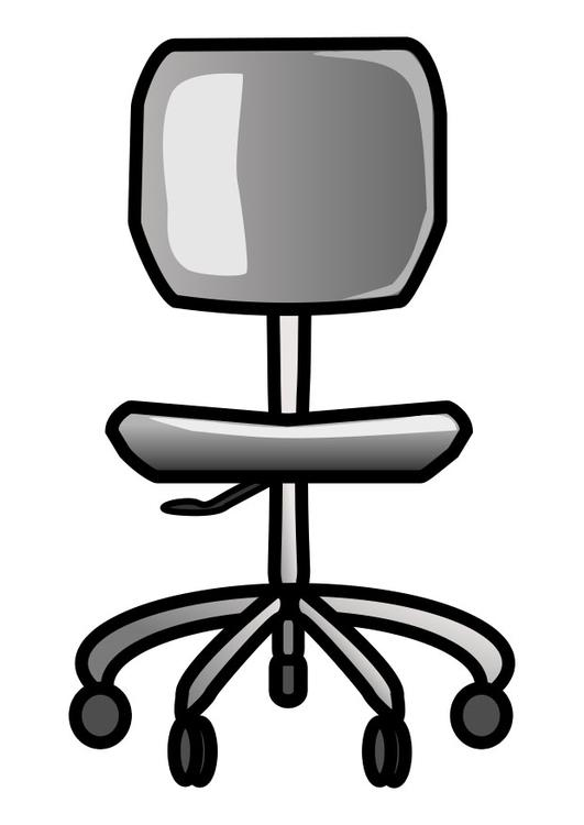 Bürostuhl gezeichnet  Bürostuhl Clipart | daredevz.com