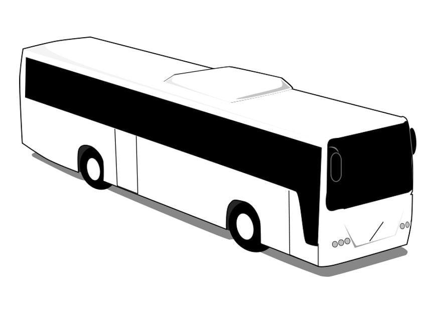 Malvorlage Bus Ausmalbild 28013