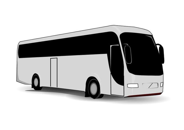malvorlage bus  ausmalbild 10098