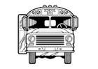 Malvorlage  Bus