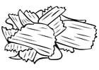 Malvorlage  Chips