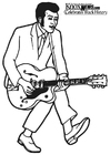 Malvorlage  Chuck Berry