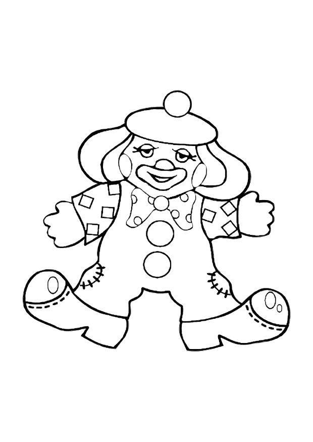 malvorlage clown  kostenlose ausmalbilder zum ausdrucken