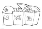 Malvorlage  Containerpark