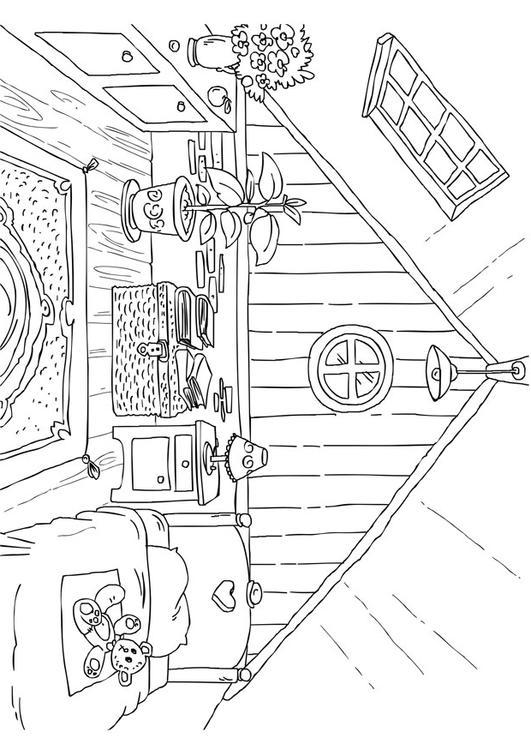 Malvorlage Dachboden 20170117192117 Badezimmer Bilder Zum Ausmalen Wohnzimmer