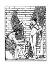 Malvorlage  Daidalos und Ikarus