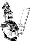 Malvorlage  deutscher Soldat