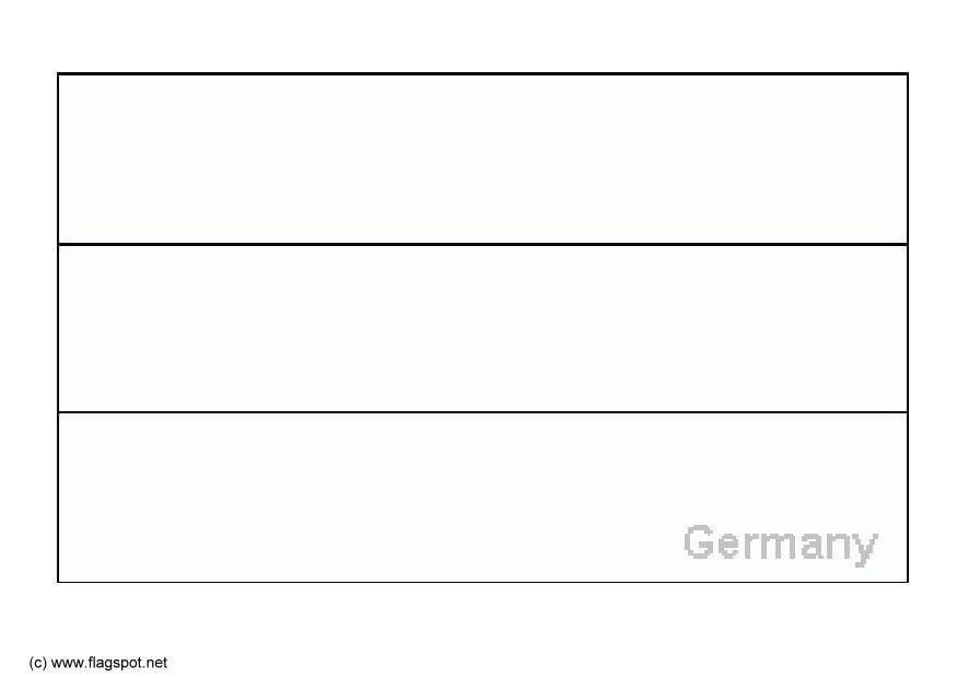 Malvorlage Deutschland | Ausmalbild 6142.